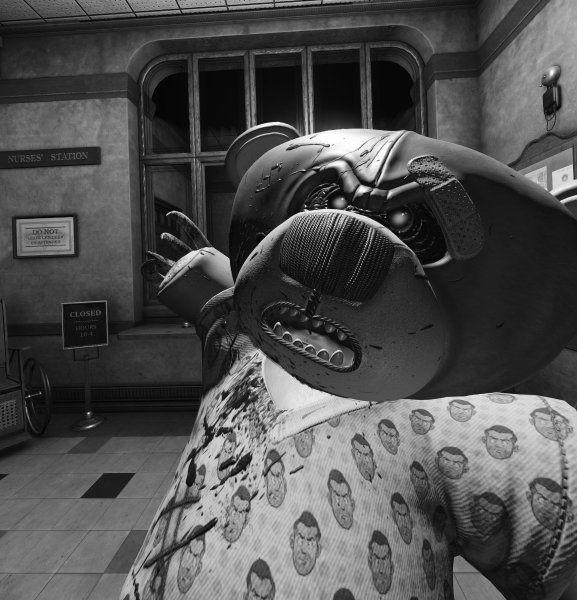 """Virtual-Reality-Spiel """"Wilson's Heart"""": ImKrankenhaus des Grauens: """"Wilson's Heart"""" ist wie ein Gang durchs Gruselkabinett. Dank…"""