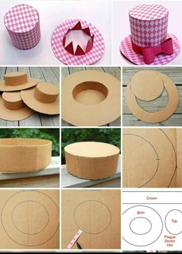 15 best images about sombreros on pinterest dinosaur hat for Materiales para goma eva