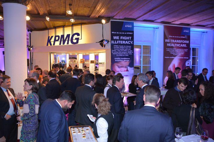 KPMG @ WEF 2015: Reception night