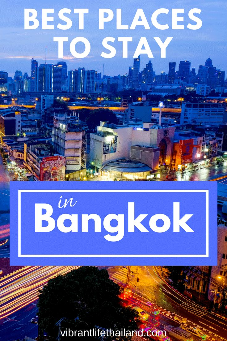 Find out which areas of Bangkok are best to stay in to travel around the city #bangkok #thailand