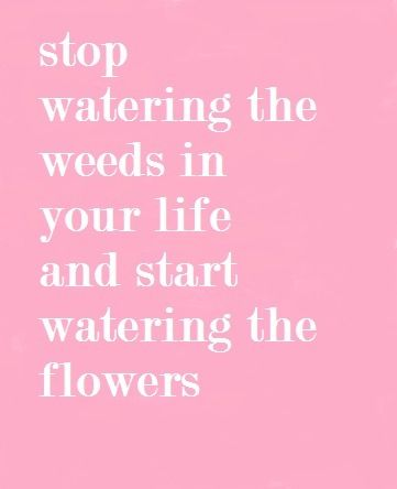 There are some people that will not be nice to you no matter how much you try !! These weeds don't deserve your continued kindness !! They will never be flowers !!