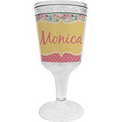 Easter Birdhouses Wine Tumbler (Personalized)