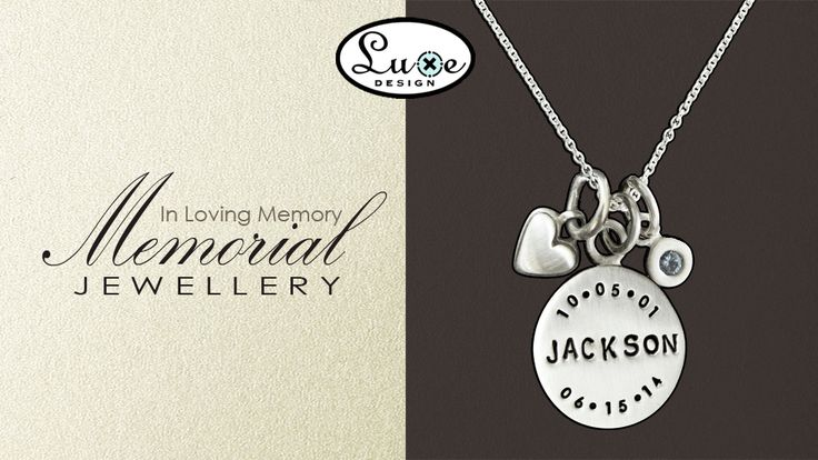 Memorial Jewellery  Joanne Hart  Luxe Design