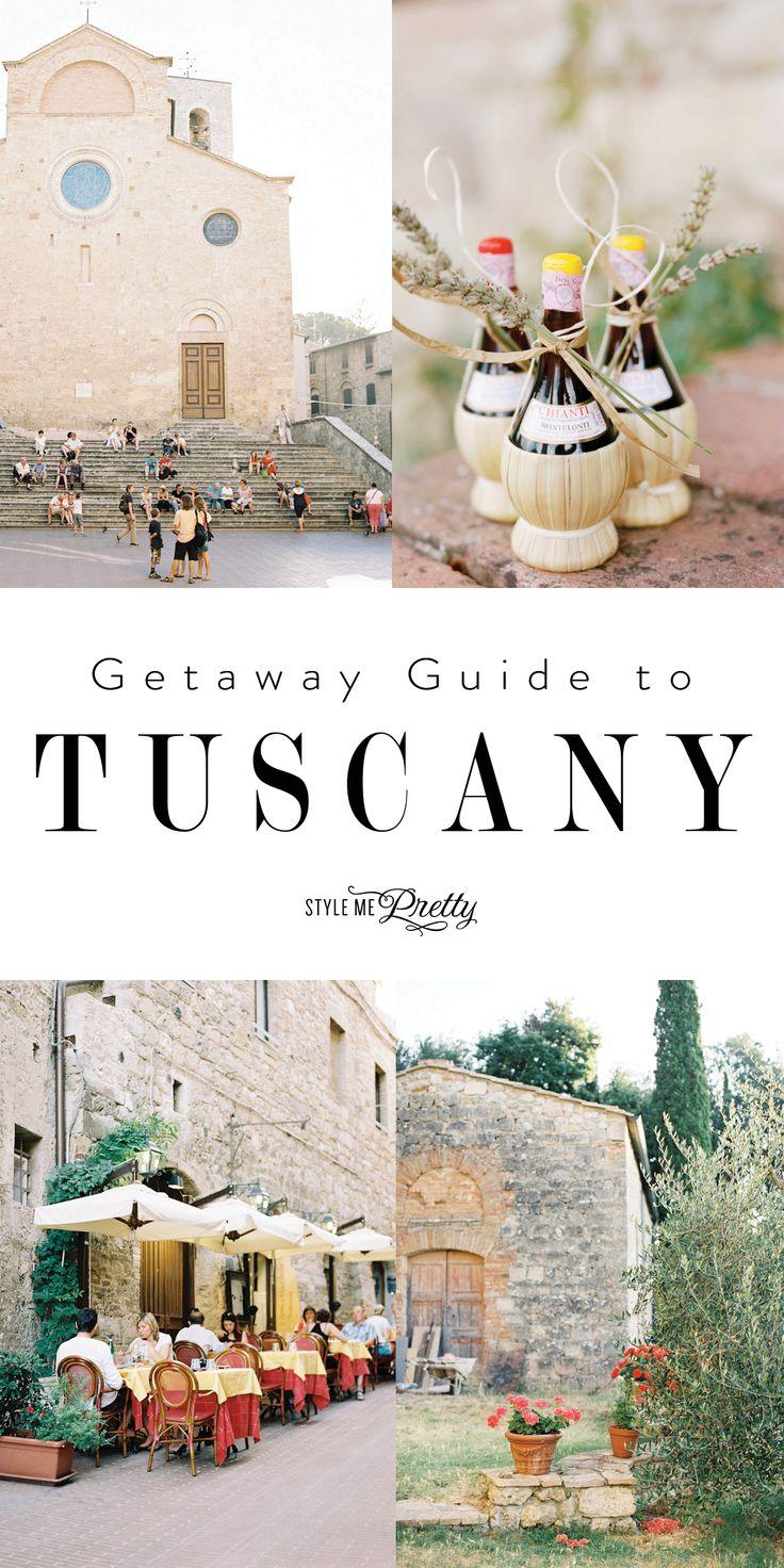 Getaway guide to Tuscany!