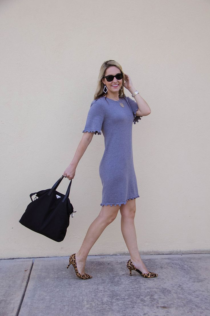 One Swainky Couple: The Work Dress that Feels Like Pajamas | comfy dresses | work outfits for women | teacher outfit | back to school | work wear