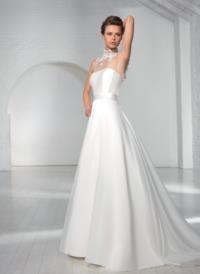 Ego spose e0463 - Atelier abiti da sposa a Napoli La Venere di Berenice. Famosa boutique di sartoria che presenta sofisticati abiti da sposa.