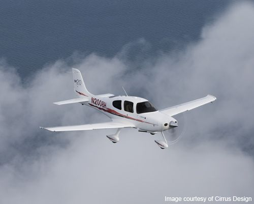 The Cirrus SR20 is an American piston engine, five-seat, composite monoplane built by Cirrus Aircraft ... for more images of Cirrus SR20 visit http://www.aerospace-technology.com/projects/cirrus-sr20/