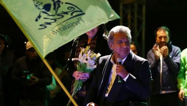 #Media #Oligarchs #MegaBanks vs #union #occupy #BLM #SDF #DemExit #Humanity   Ecuador Polls Project Win for Left-Wing Candidate Lenin Moreno in Presidential Race   http://www.telesurtv.net/english/news/Ecuador-Polls-Project-Win-for-Left-Wing-Candidate-Lenin-Moreno-in-Presidential-Race-20170322-0009.html   All latest polls predict a win for the left-wing candidate, who led his conservative rival by over 10 percent in the first round vote.  Ecuador's presidential candidate Lenin Moreno leads…
