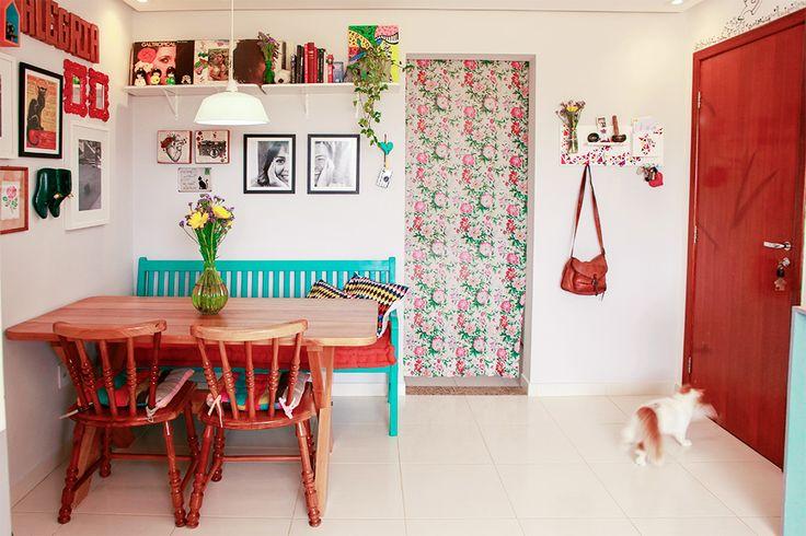 Eva mota e rog rio luiz salas tecidos floridos e porta for Home designer 8