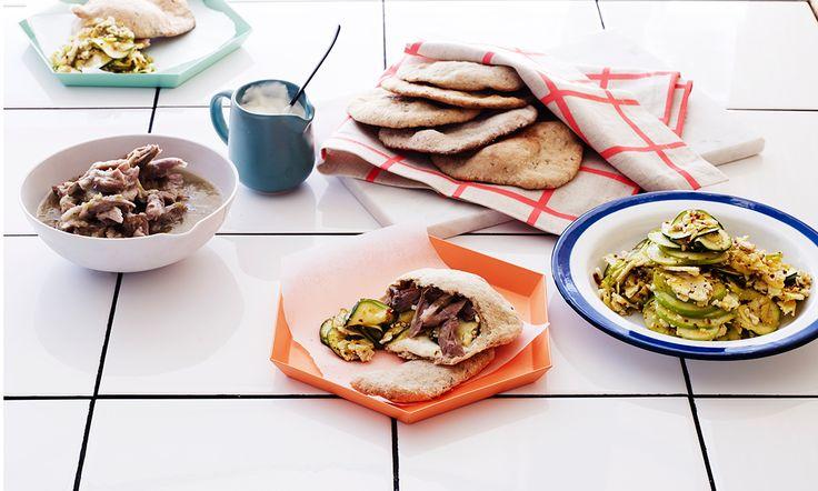 Cider-glazed ham hocks | Rachel Khoo | Recipes | SBS Food