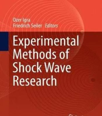 Experimental Methods Of Shock Wave Research PDF