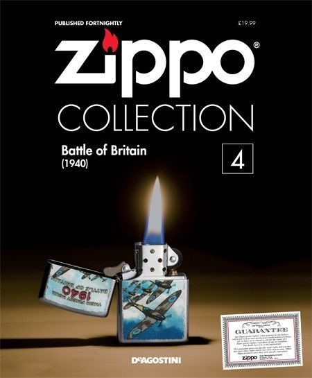 DEAGOSTINI ZIPPO COLLECTION LIGHTER WITH MAGAZINE #4 in Collectables, Tobacciana & Smoking Supplies, Lighters | eBay!