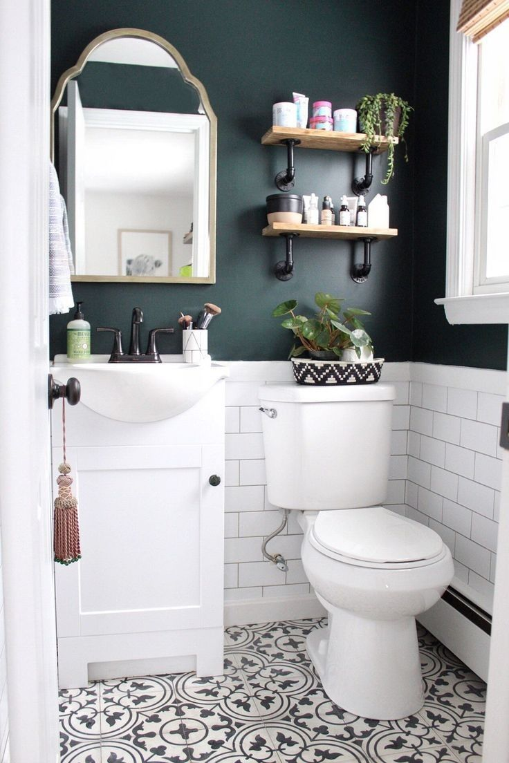 To Inspire You Small Bathroom Designs And Ideas 35 In 2020 Bathroom Design Small Small Bathroom Makeover Best Bathroom Colors