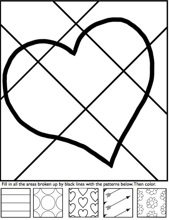 fun in february with my interactive coloring sheets for valentines day