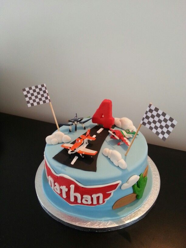 Disney Planes cake - Declan's birthday!