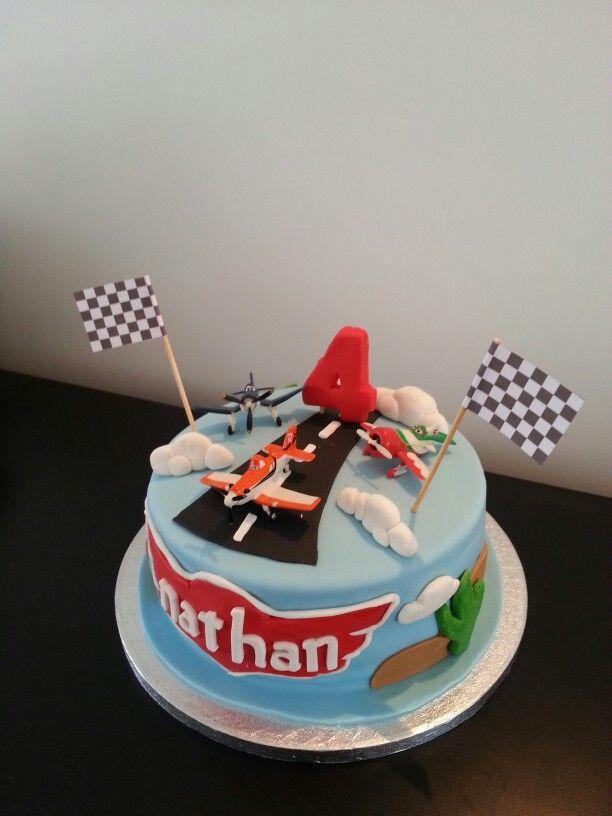 Disney Planes cake - Nathan's birthday!
