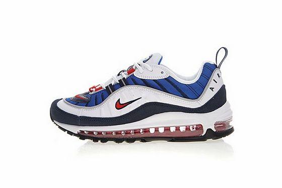 Top Quality Nike Air Max OG 98 Gundam Navy Blue Black Red Sneakers Women's Men's Sport Running Shoes