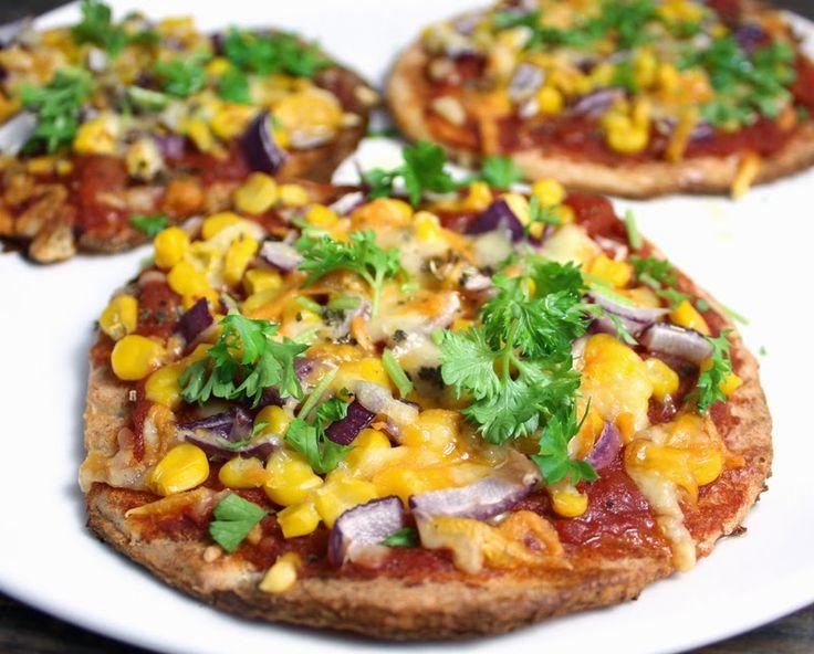 Oppskrift Blomkålpizza Glutenfri Pizzabunn Blomkål Glutenfritt Mel