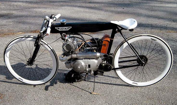 SAINT MOTOR COMPANY # 1965 Honda 150cc twin Cylinder Board Tracker