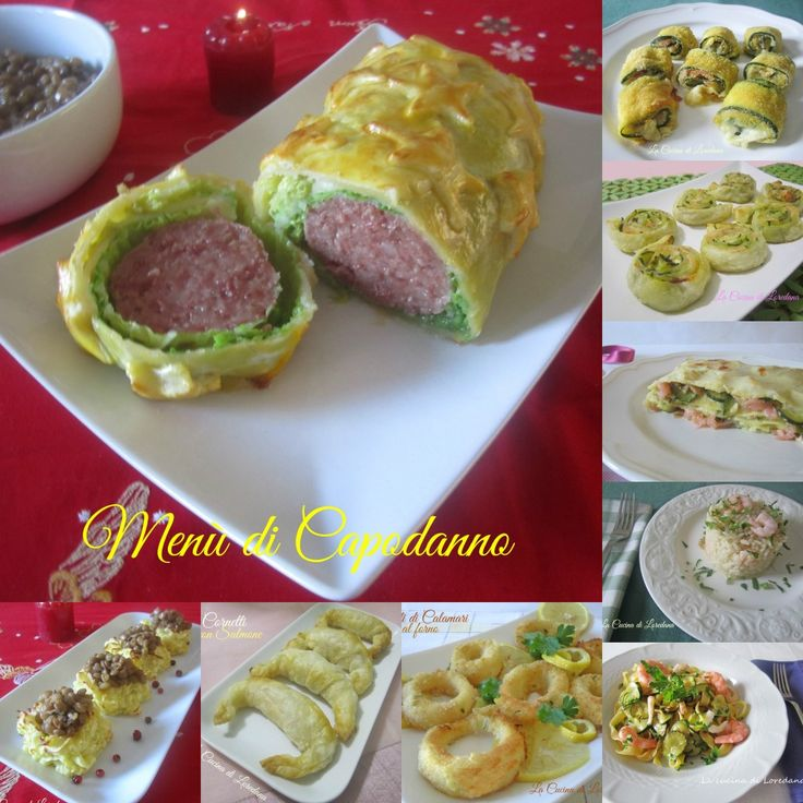 Menù di Capodanno | La Cucina di LoredanaLa Cucina di Loredana