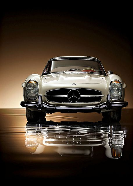 Mercedes-Benz 300SL Roadster...  I WOULDN'T MIND IF THE COLOR I LOVE WOULD COME WITH THE CAR !!! ;)