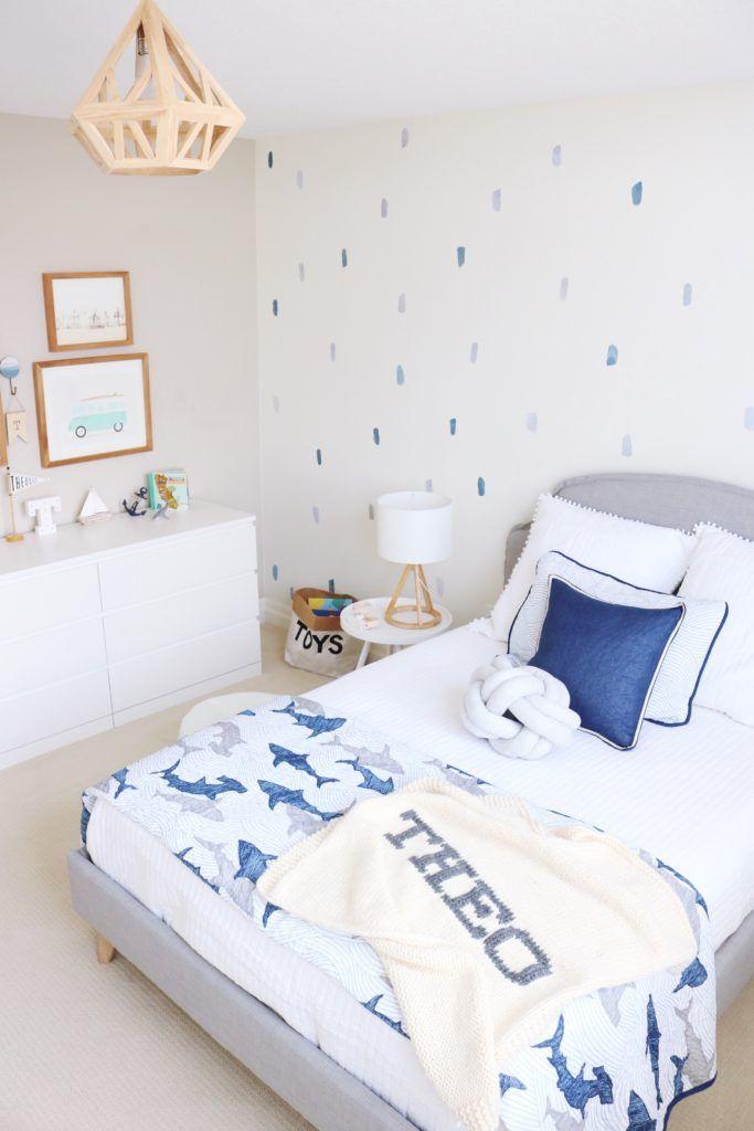 California Beach Inspired Toddler Room Project Nursery Boys