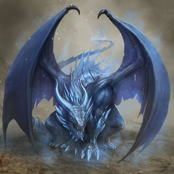 ArtStation - Ice Dragon, Joshua Carrenca