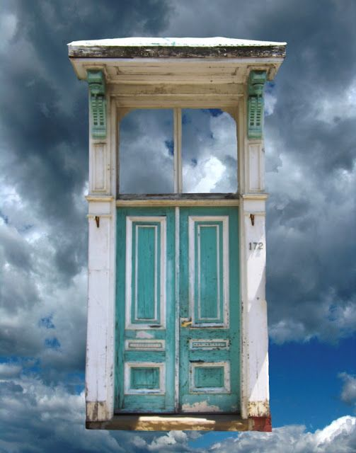 The Art of Valerie Biebuyck: Doors Reconstituted. Rest on the Way to Heaven