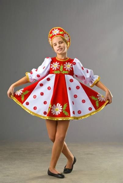Основные национальные сценический костюмы украинского танца