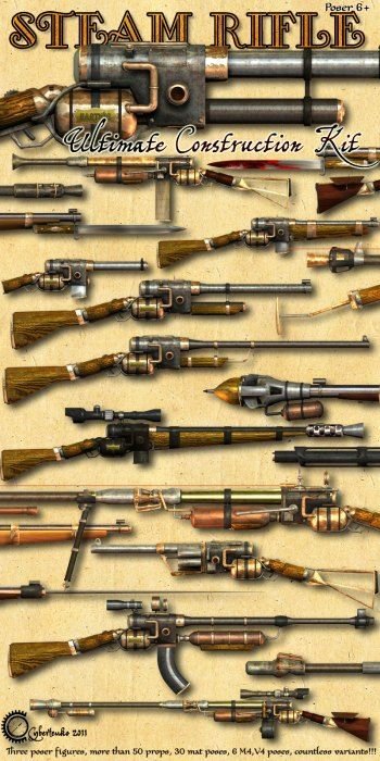 Steam Rifle – Ultimate Construction Kit
