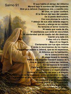 REFLEXIONES PARA EL ALMA: SALMO 91                                                                                                                                                      Más