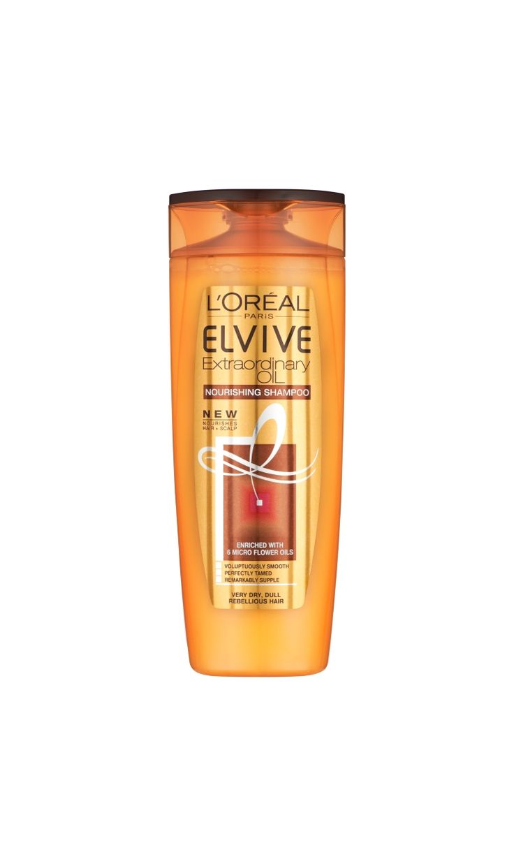 Elvive Extraordinary Oil Shampoo Very Dry-LOREAL