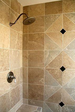 shower stalls / design bookmark #756 | bathroom tile