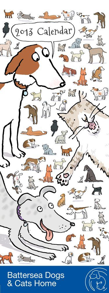 Amazon.co.jp: Battersea Cats & Dogs Home Slim Dia 2013: 洋書