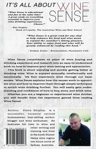Overview and Table of Contents for Wine Sense.