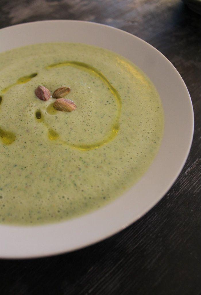 Vellutata zucchine e pistacchi - Powered by @ultimaterecipe