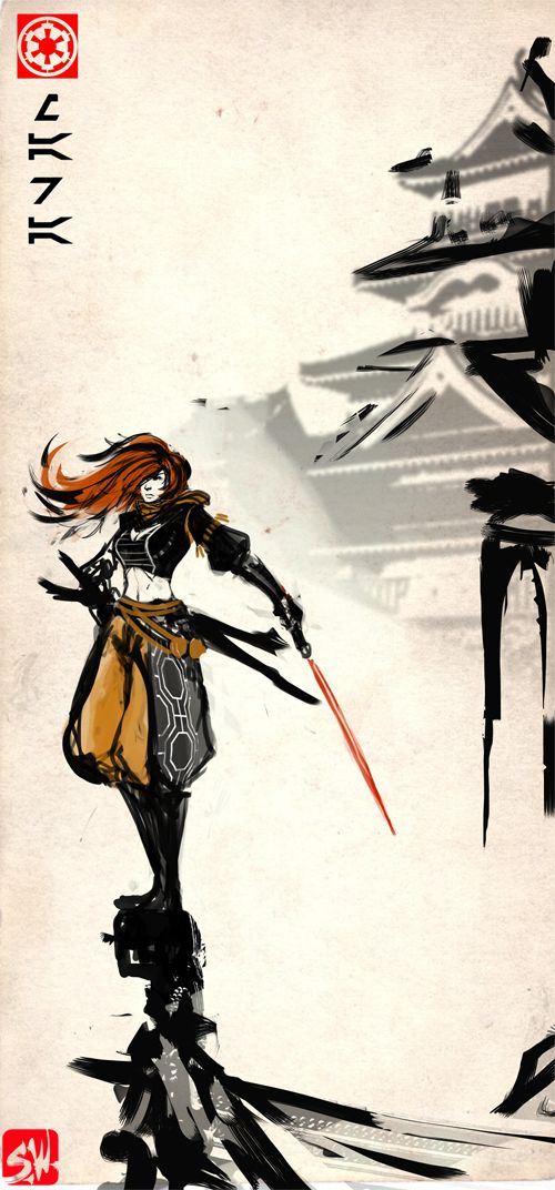 Sith Bushido: Mara Jade by ManBean on DeviantArt
