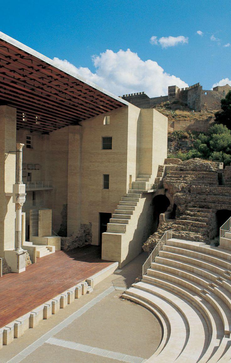 Teatro Romano di Sagunto, Valencia Spain | Giorgio Grassi and Manuel Portaceli
