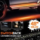 Running Board/ Side Step LED Light kit For Chevy Dodge GMC Ford Trucks Crew Cab