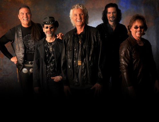 Grand Funk Railroad features Don Brewer, Mel Schacher, Max Carl, Bruce Kulick and Tim Cashion. This top selling American rock group of the '70s performed at the River Cree Casino.   #GrandFunkRailroad #Casino #Entertainment #Trixstar #Music #concert #CasinoEvents #Event #EventPlanning