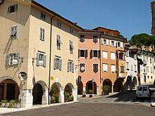 Gorizia, la salita al Castello