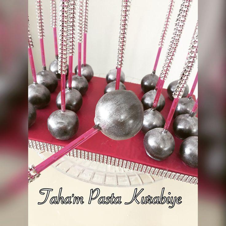 Gümüş cakepops 😍😍