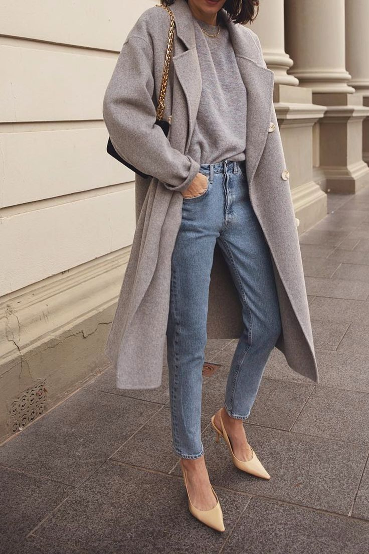Einfaches Alltagsoutfit für frühlingshafte #ootd #howtochic #outfits #alltagso… –