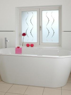 Bathroom window films by Brume