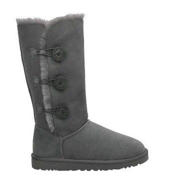 Ugg Bailey Button Triplet Boots 1873 Gray sale  $89.00