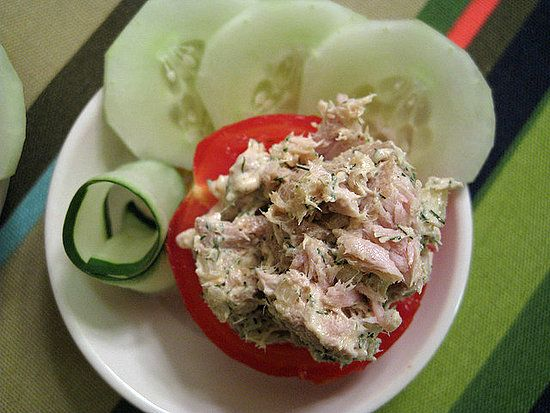 tuna avocado salad with cucumber slices :): Low Carb Snacks, Chicken Salad, Lowcarb, Healthy Snacks, Tuna Salad, Snacks Ideas, Healthy Food, Tomatoes, No Breads