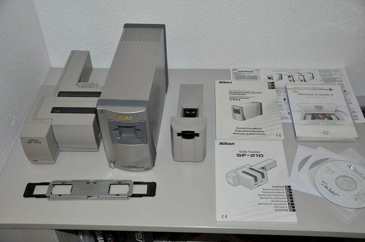 Nikon Coolscan 5000 ED+SA-21+MA-21+SF-210+FH-3+SilverFast Ai 8+Gewährleistung
