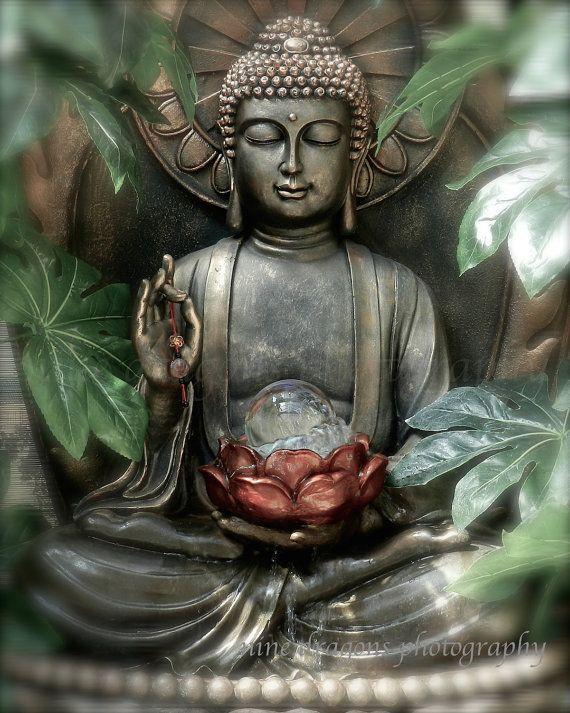 Buddha Photography Asian Art Green Buddha Photo by ninedragons