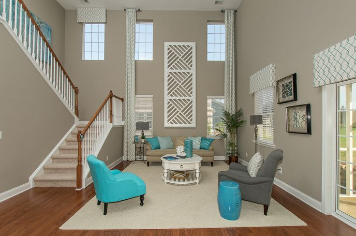 This Living Space From Lennar Charleston Features A High