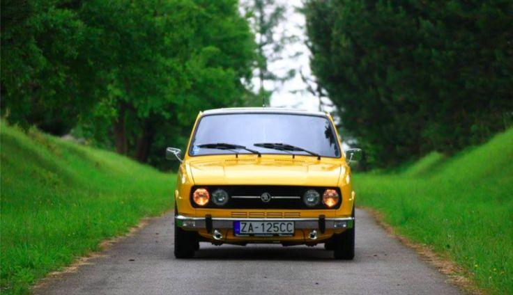 Upravená Škoda Rapid 136L